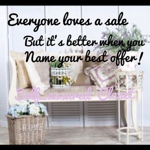 🌸Whats your offer🌸Lets work something out!